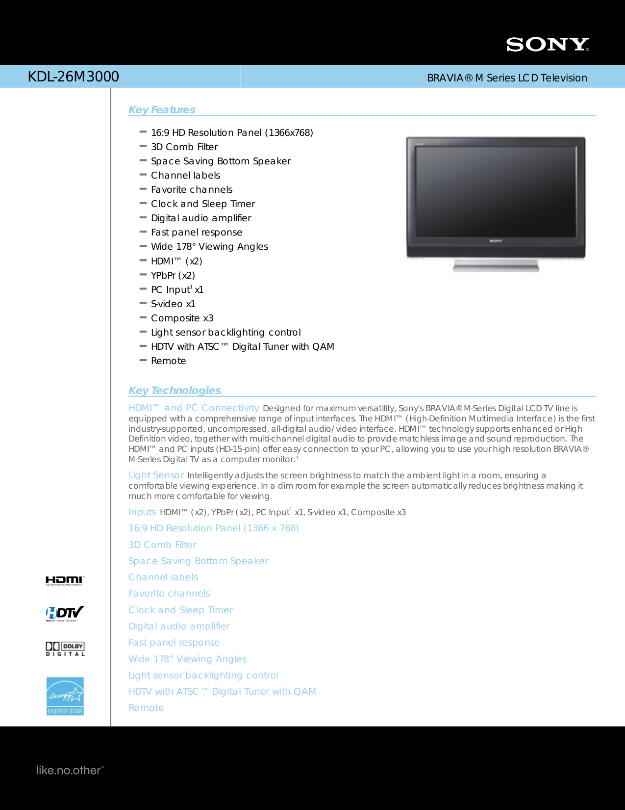 sony bravia tv types manual pdf