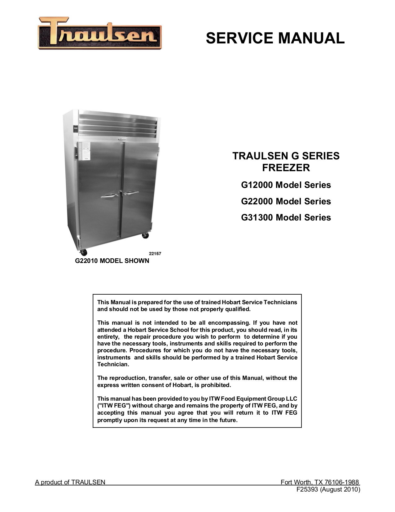 Pdf manual for traulsen freezer g22010 traulsen freezer g22010 pdf page preview cheapraybanclubmaster Image collections
