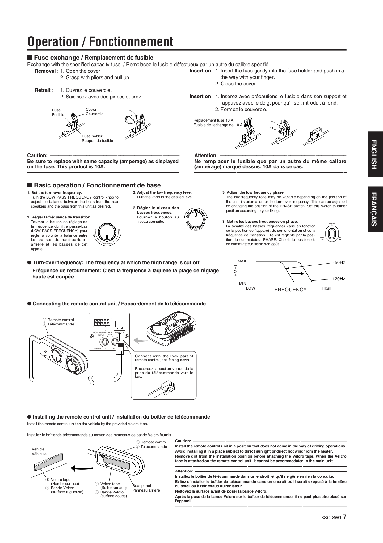 KSC SW1 ins manual.pdf 6 pdf manual for kenwood subwoofer ksc sw1 kenwood ksc-sw1 wiring harness at alyssarenee.co