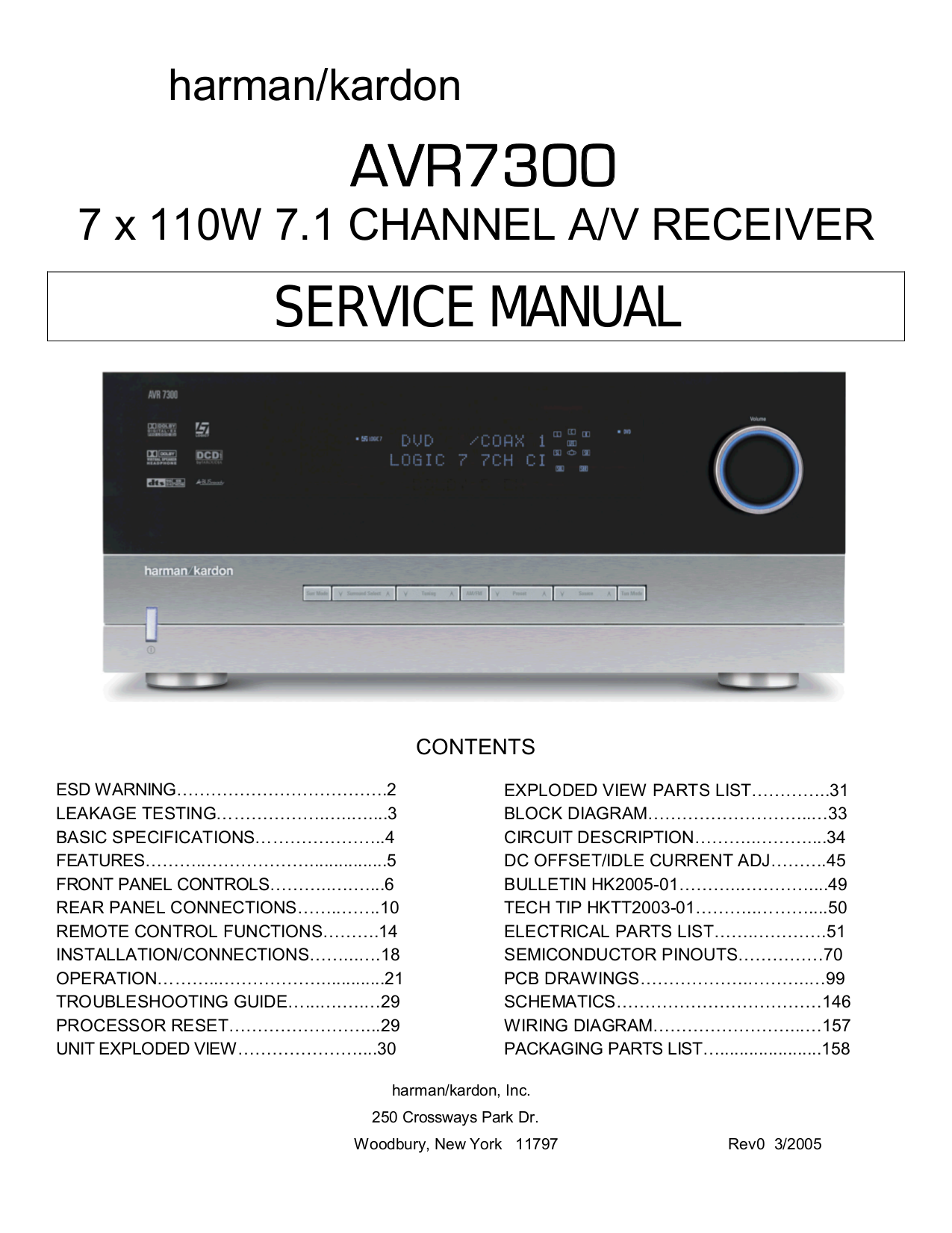 Pdf Manual For Rca Home Theater Rt2250 7 1 Wiring Diagram Page Preview