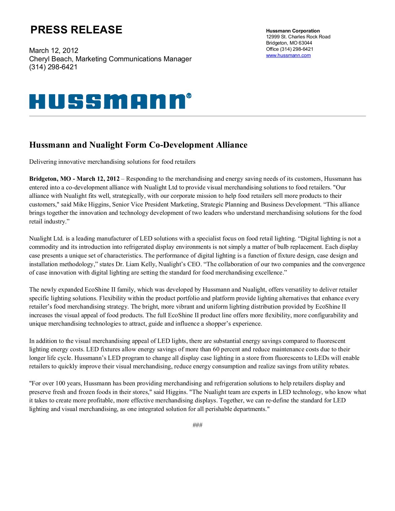 pdf for Hussmann Other DMA Merchandisers manual