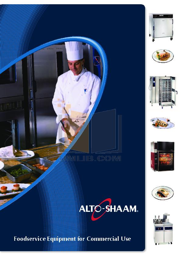 pdf for AltoShaam Other 12-20MW Warmers manual