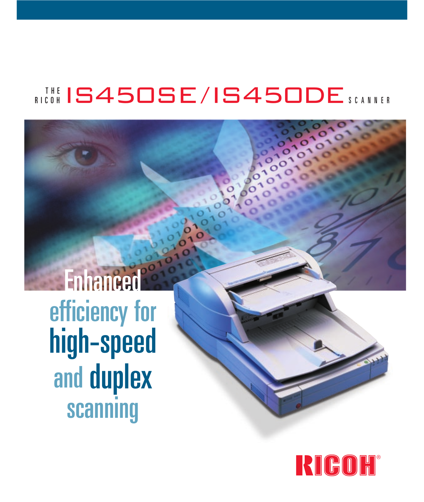 pdf for Ricoh Scanner IS450 manual