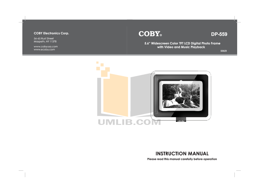 download free pdf for coby dp 772 digital photo frame manual rh umlib com