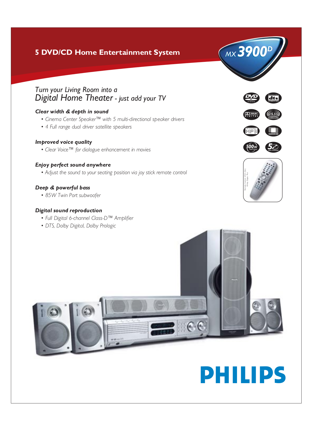 download free pdf for philips mx3900d home theater manual rh umlib com Philips Television Philips Electronics Manuals