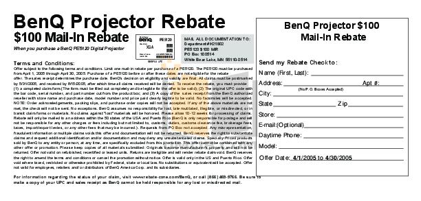 pdf for Benq Projector PE5120 manual