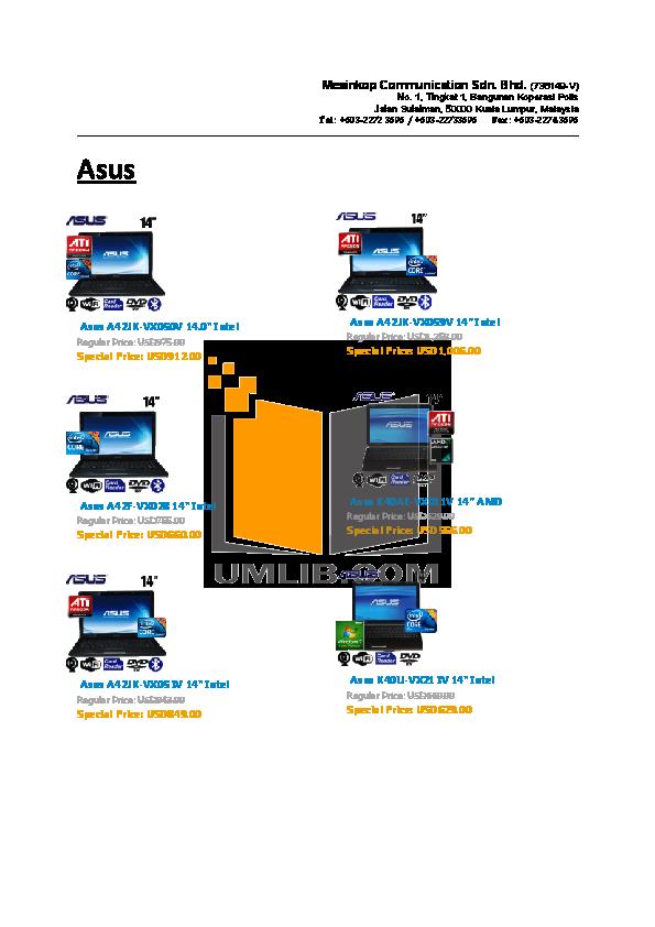 HP Laptop Compaq Presario,Presario CQ41-224 pdf page preview