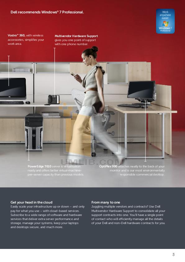 PDF manual for Dell Desktop OptiPlex 390 DT
