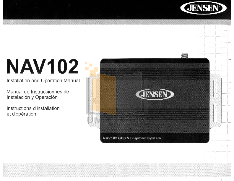 Audiovox Car Receiver VM9512 pdf page preview