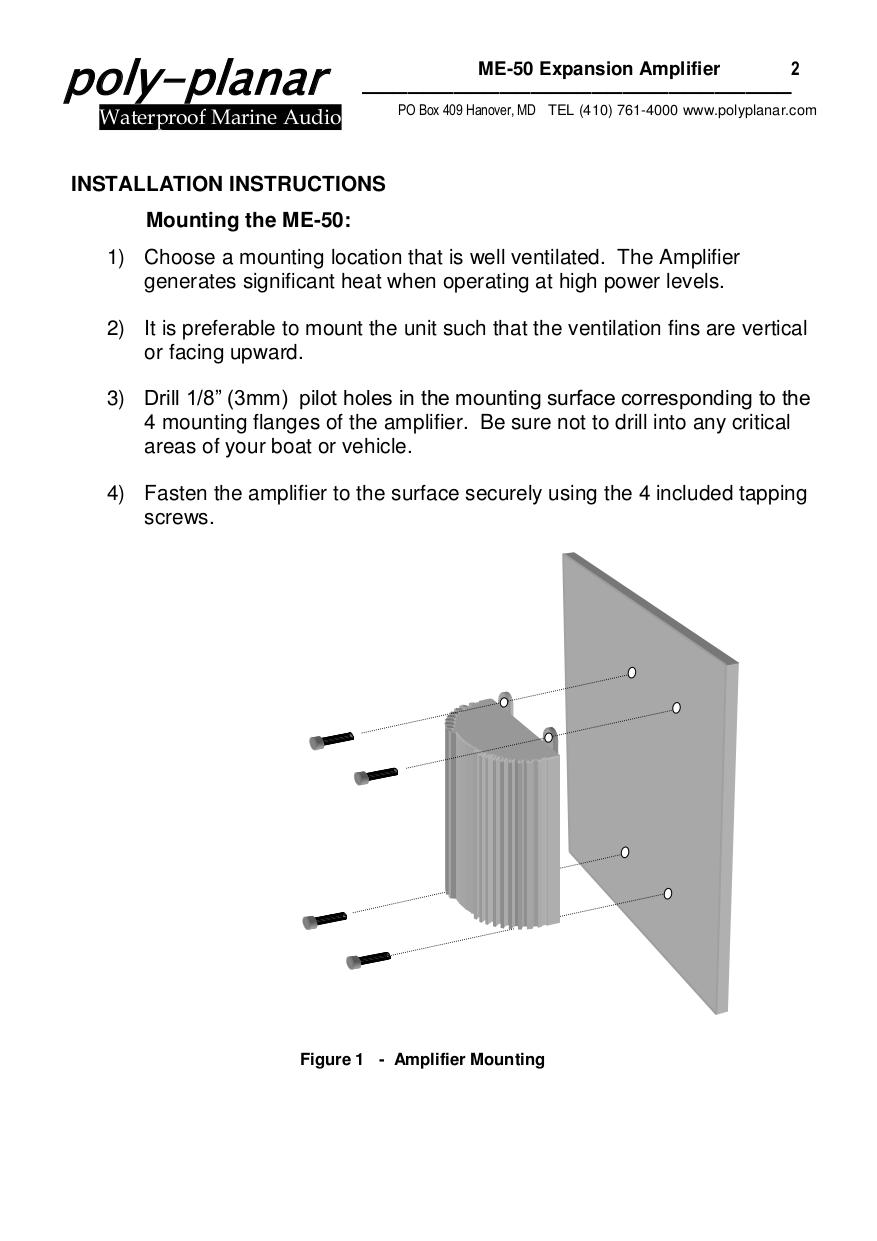 pdf manual for poly planar car receiver mrd 60 rh umlib com