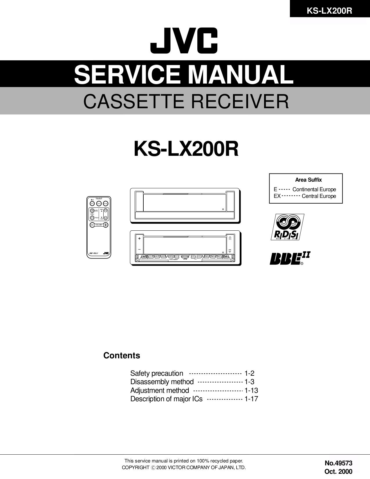 Jvc kd-s641 manuals.