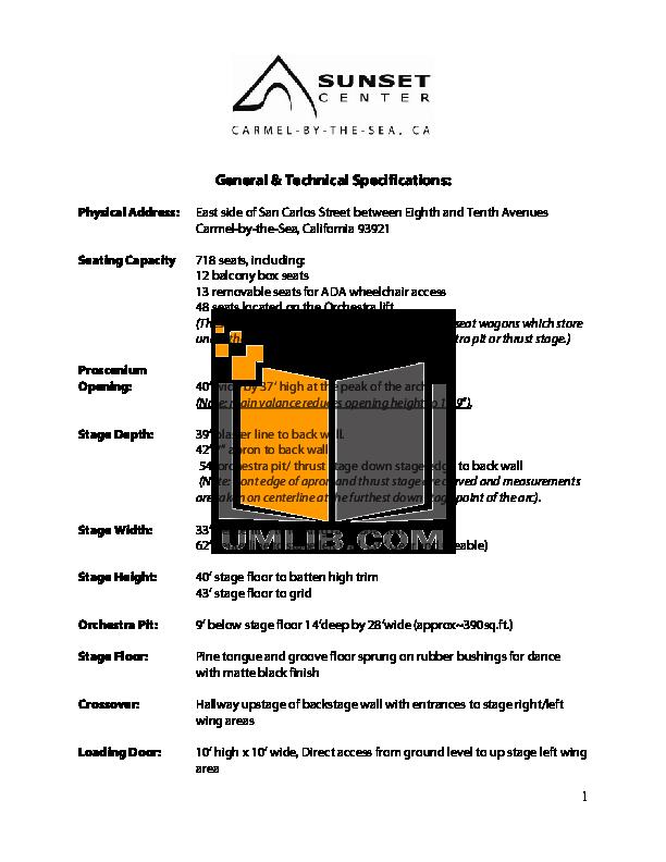 pdf for Eaw Speaker System SM159z manual