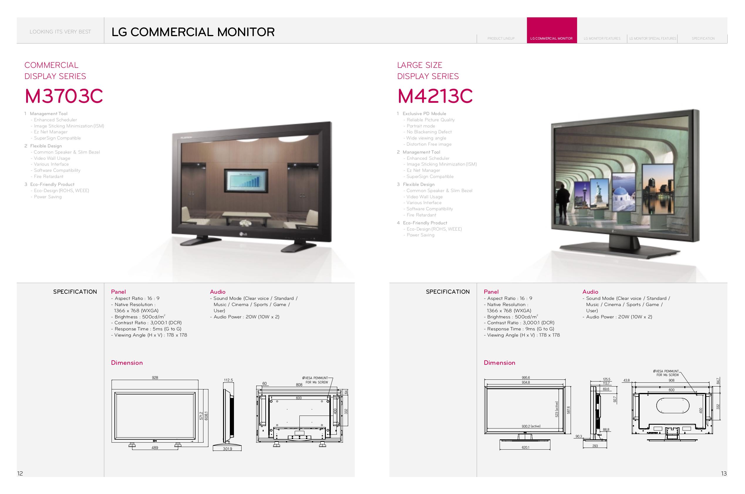 LG Monitor M5201C pdf page preview