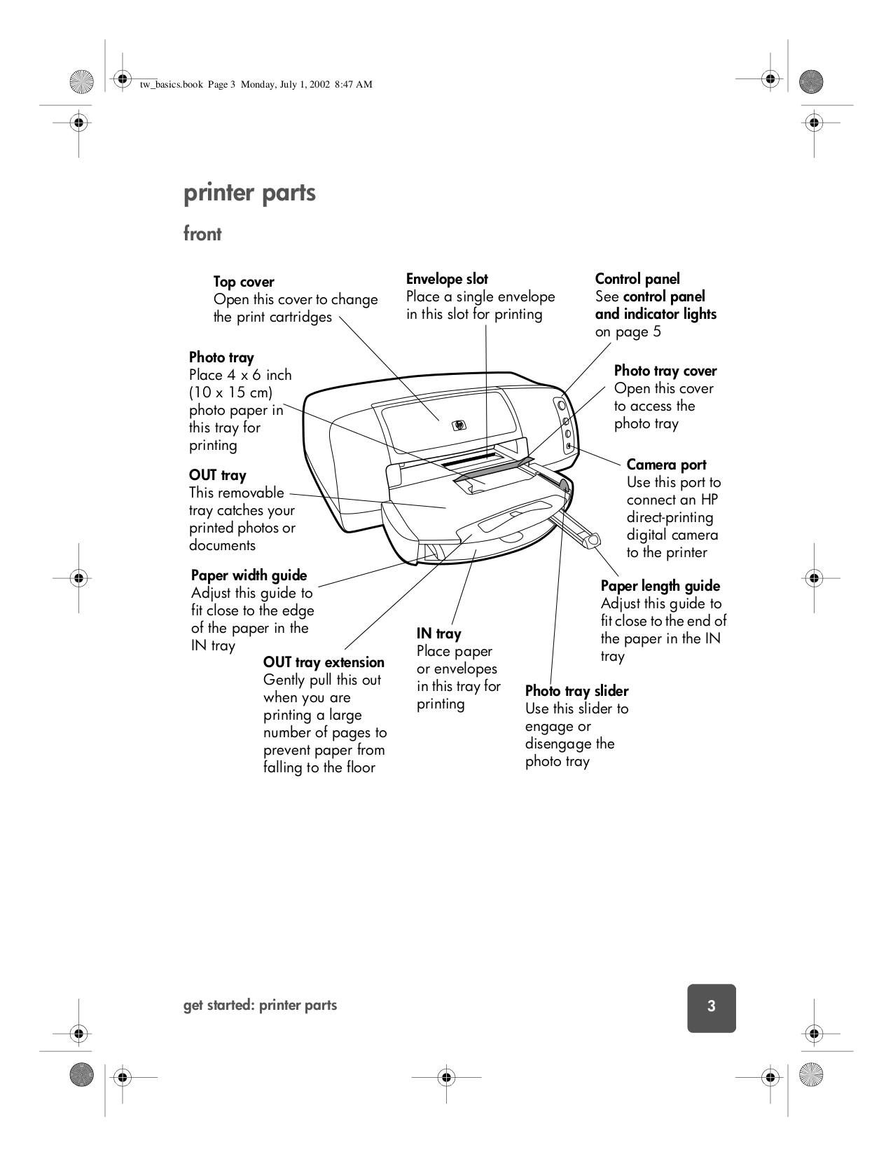 ... HP Printer Photosmart 7150 pdf page preview ...