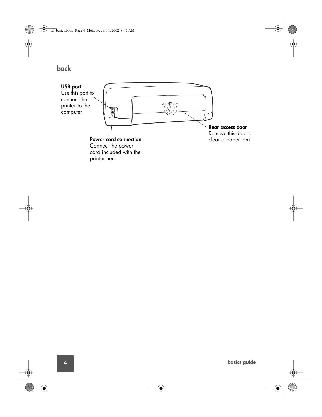 ... HP Printer Photosmart 7150 pdf page preview