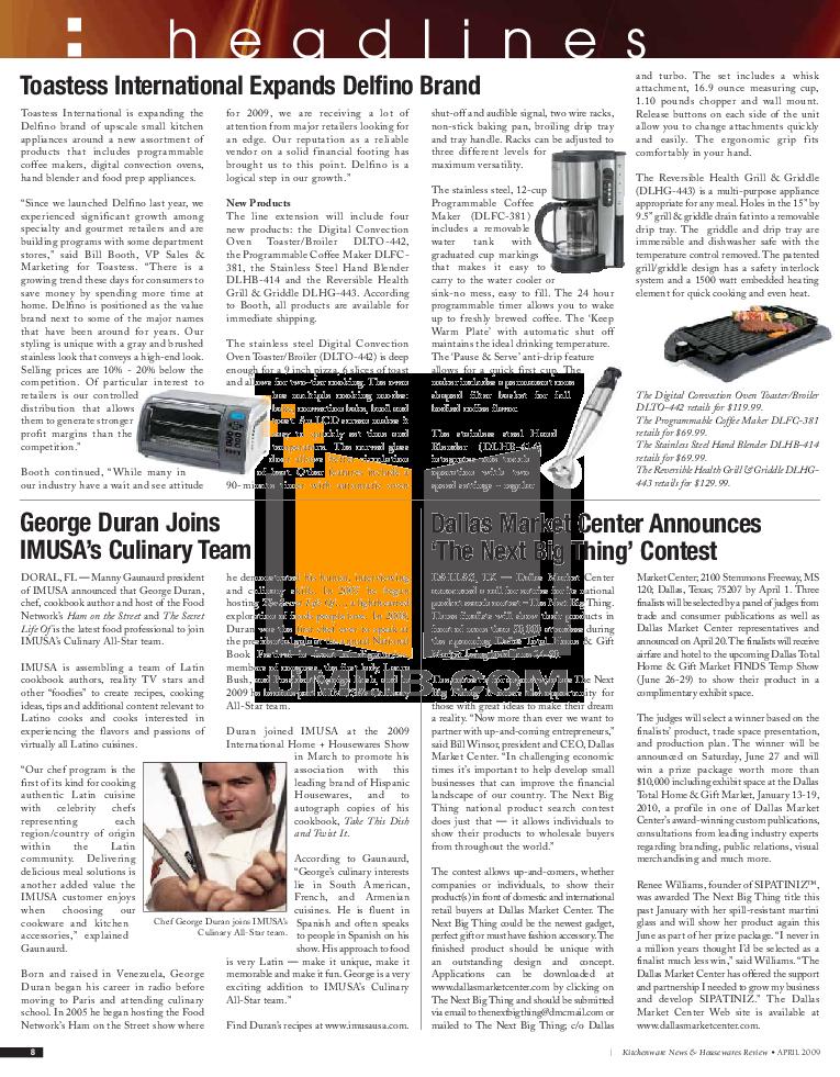 BlackAndDecker Blender BL1900 pdf page preview
