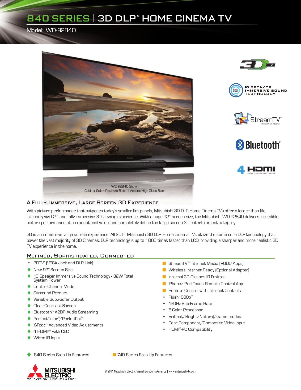 Download Free Pdf For Mitsubishi Wd 92840 Tv Manual Schematic Dlp