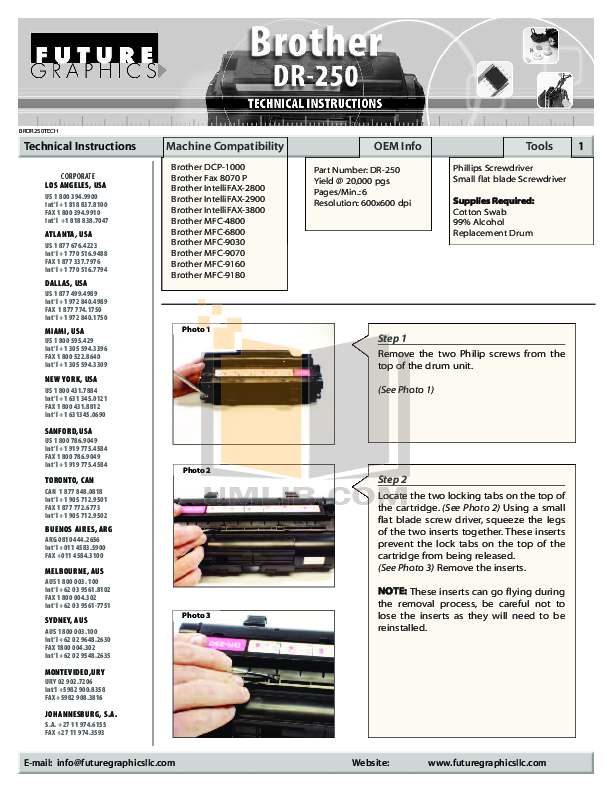 pdf for Brother Fax Machine IntelliFAX 770 manual