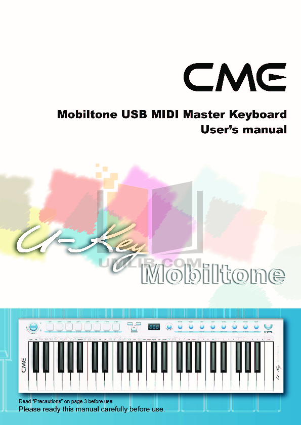 Cme m-key manual.