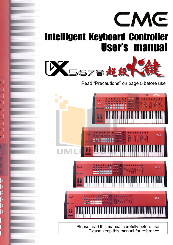 Cme u-key mobiltone manuals.