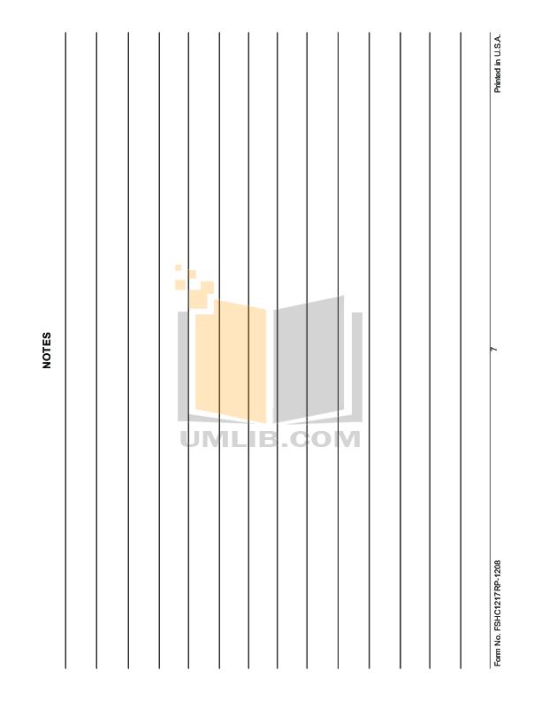 Hatco Other FSHC-17W2 pdf page preview