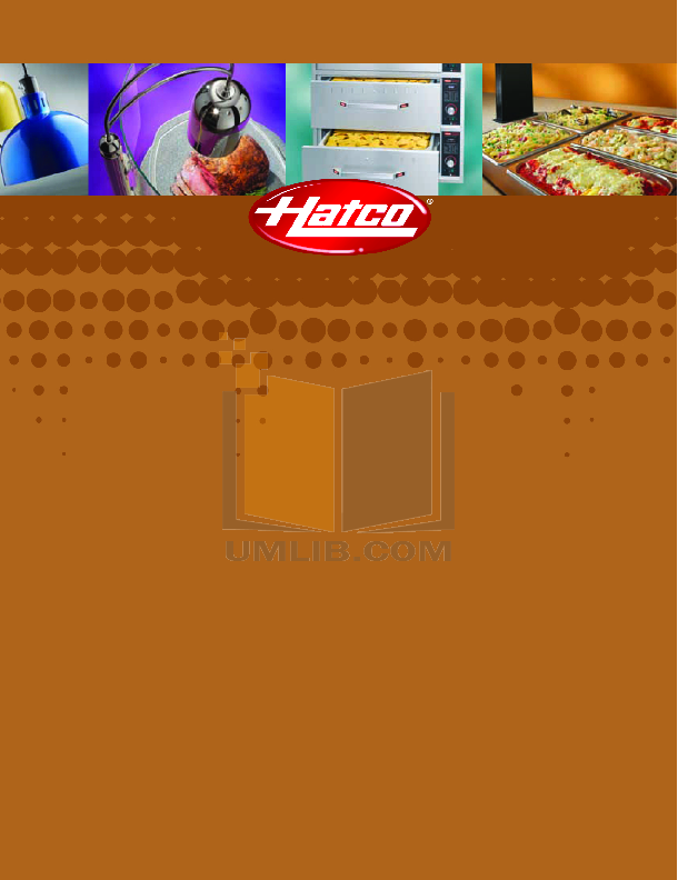 pdf for Hatco Other FSHC-17W2 manual