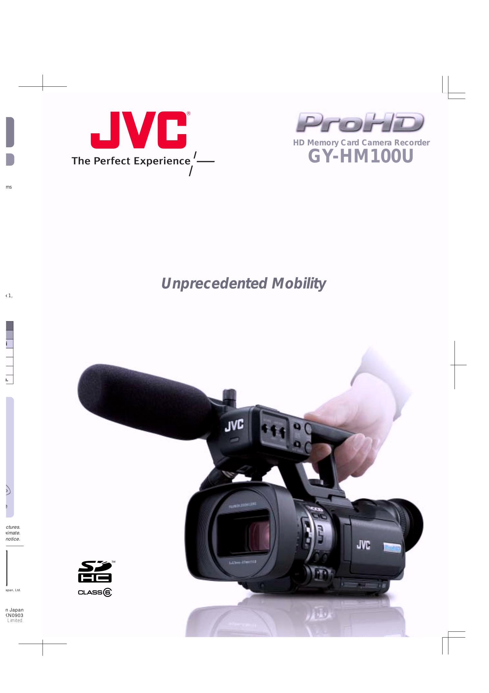 download free pdf for jvc gy hm100u camcorders manual rh umlib com JVC GY HM100U Manual Review JVC Gy HM100U