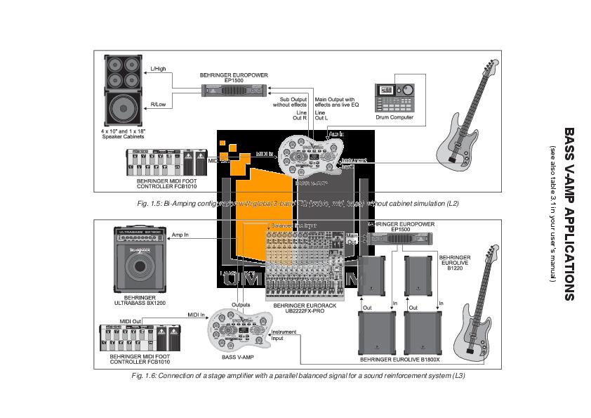 Behringer v-amp 2 demo: quick tour of general settings youtube.