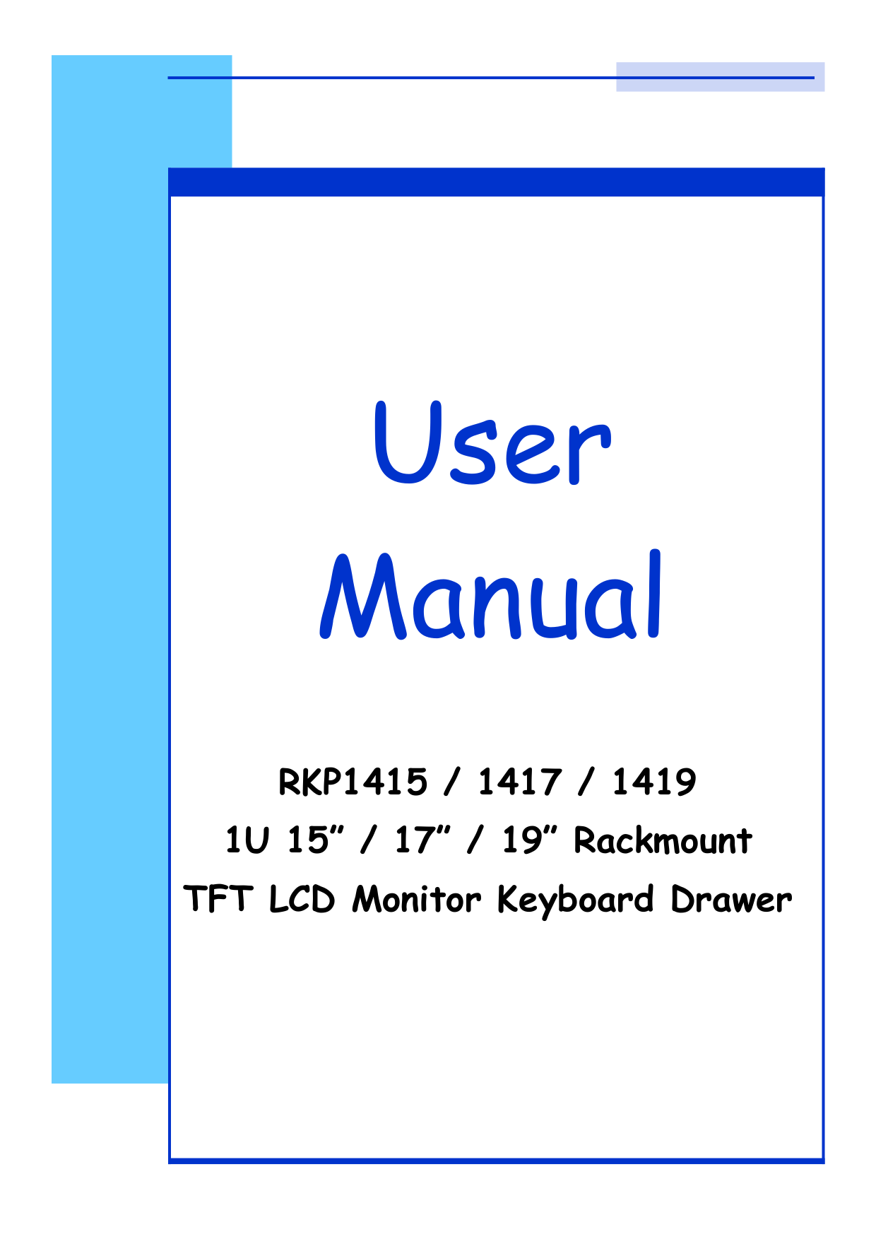 pdf for I-Tech Other RKP1419 Keyboard Drawers manual