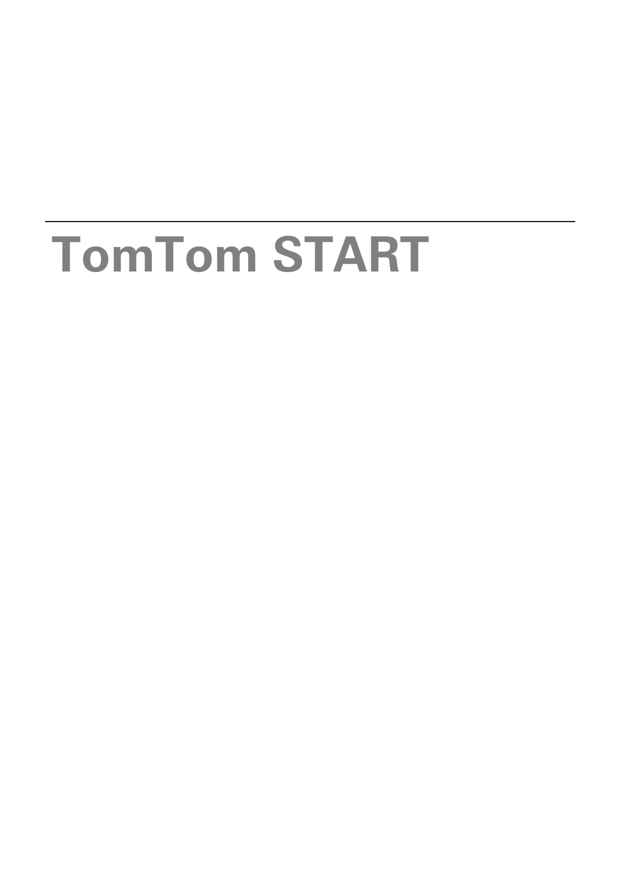 pdf for TomTom GPS Ease manual