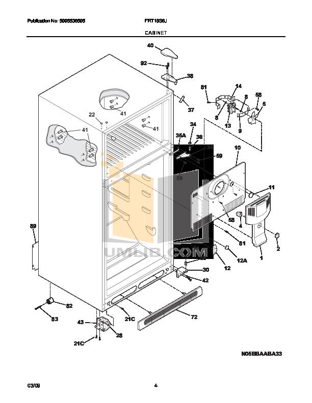 pdf manual for frigidaire refrigerator frt18s6j