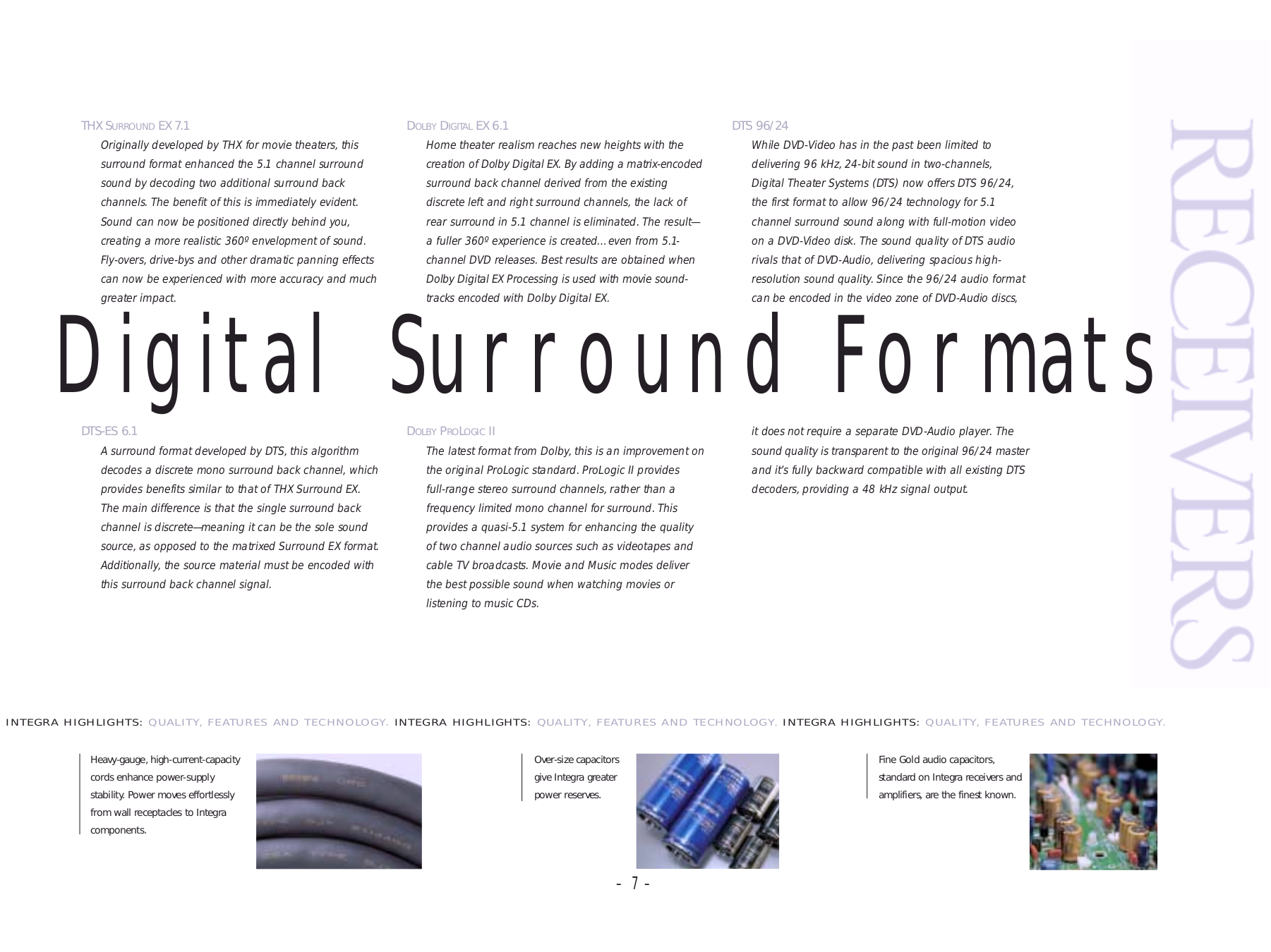 ... Integra DVD Players DPS-5.5 pdf page preview ...