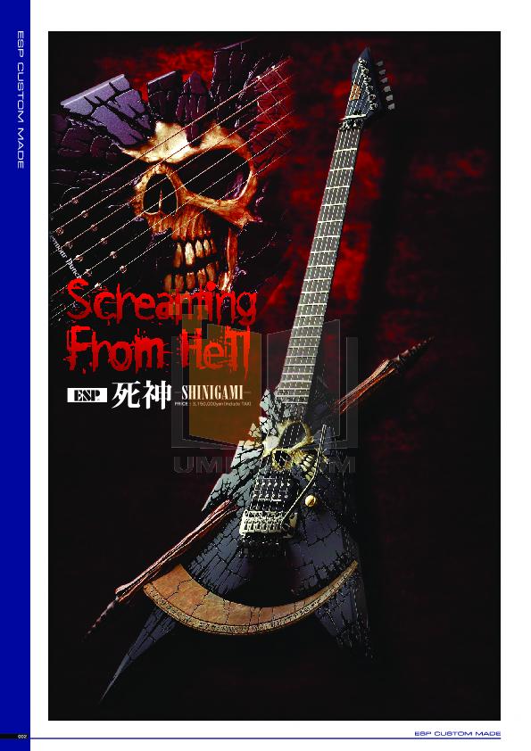pdf for ESP Guitar Horizon NT-7 manual