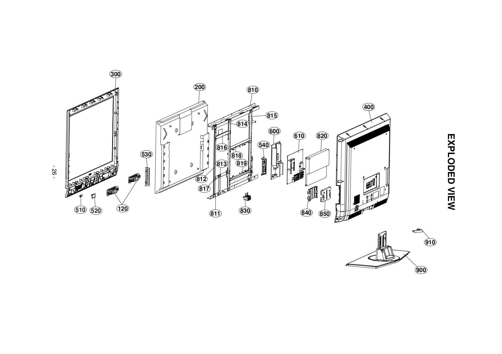 pdf for LG TV 37LB4D manual