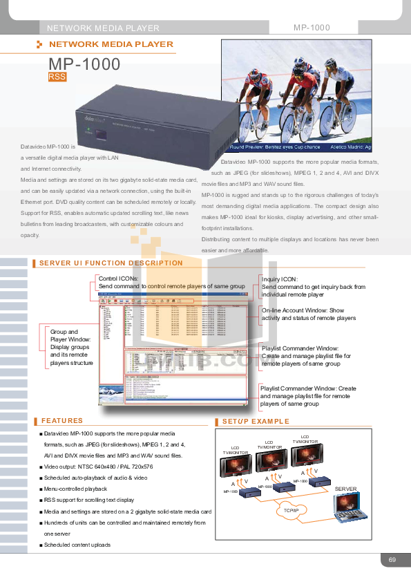 pdf for Datavideo Other PD-1 Power Distributor manual