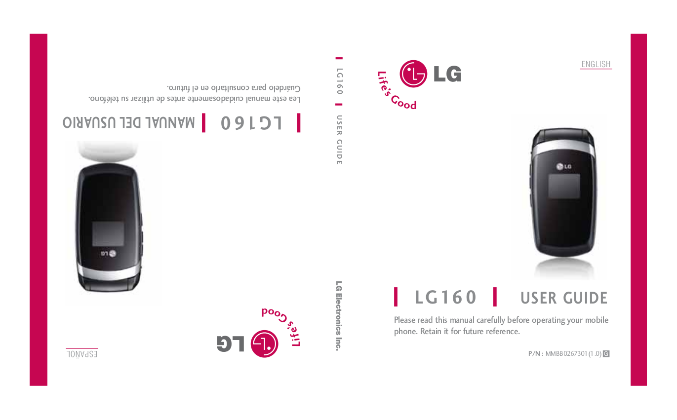 manual for lg c441 cell phone