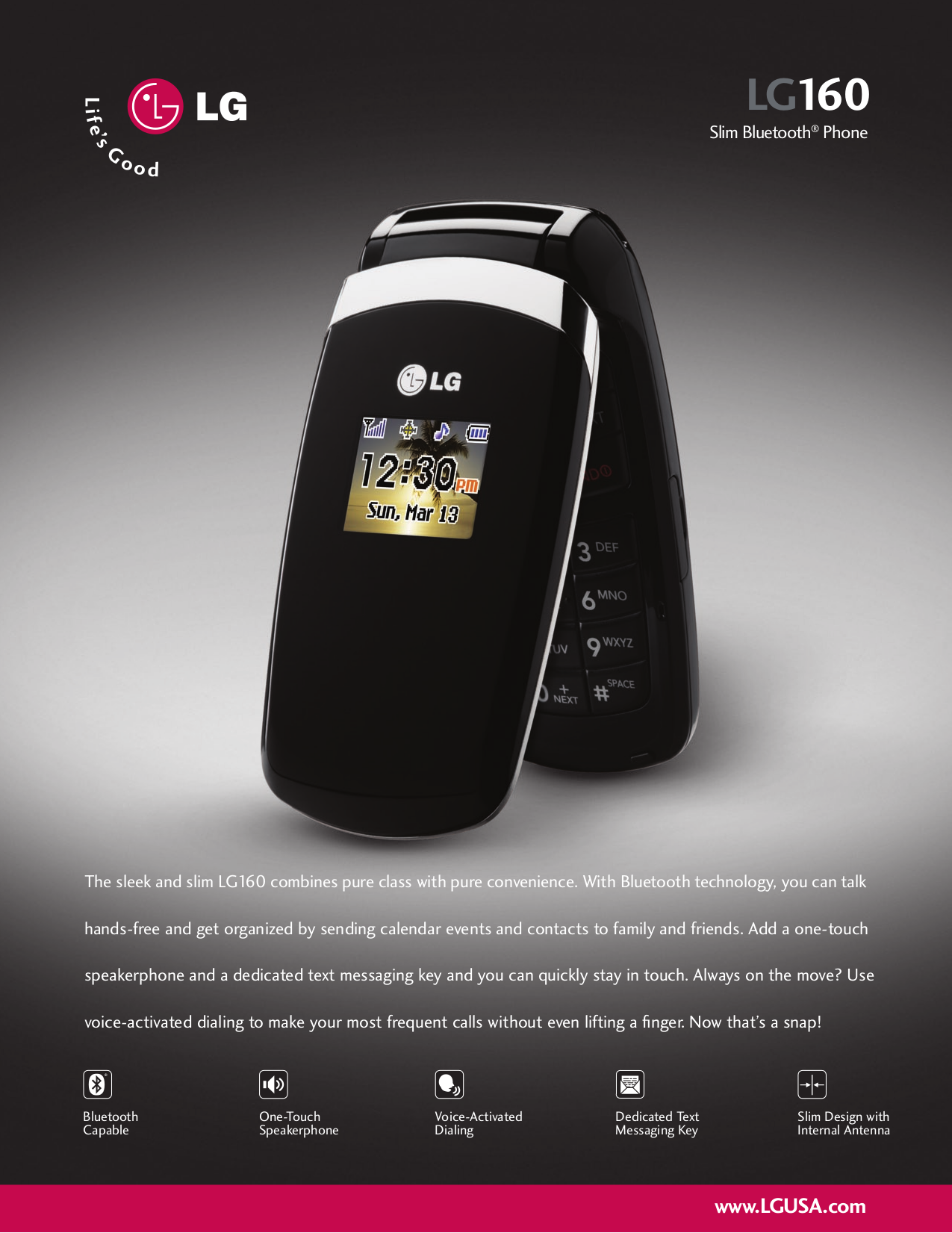 download free pdf for lg lg160 cell phone manual rh umlib com LG Phone Manuals User Guides LG Cell Phone Operating Manual