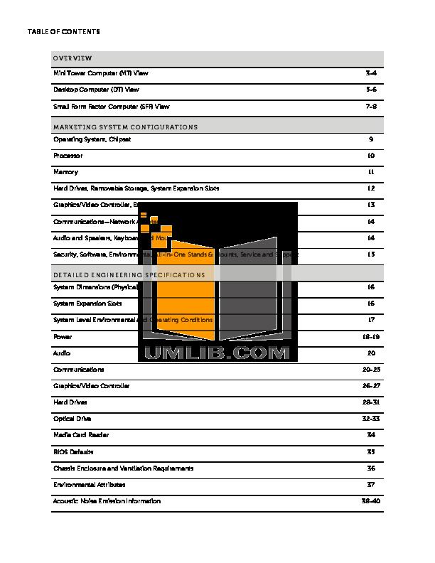PDF manual for Dell Desktop OptiPlex 390 SFF