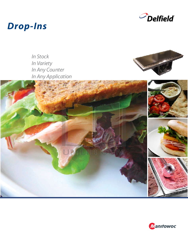 pdf for Delfield Other N8131-FA Cold Pans manual
