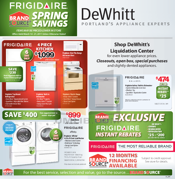 pdf for Frigidaire Refrigerator Gallery DGUS2635LP manual