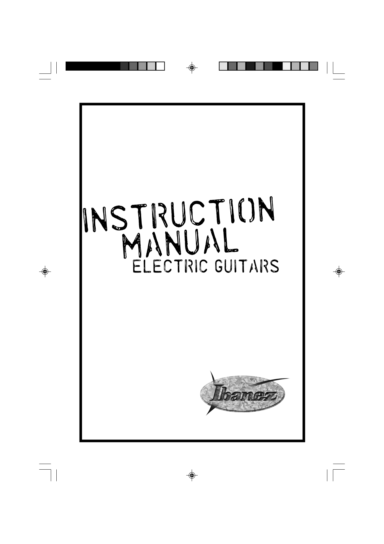 Download free pdf for Ibanez GAX70 Guitar manual