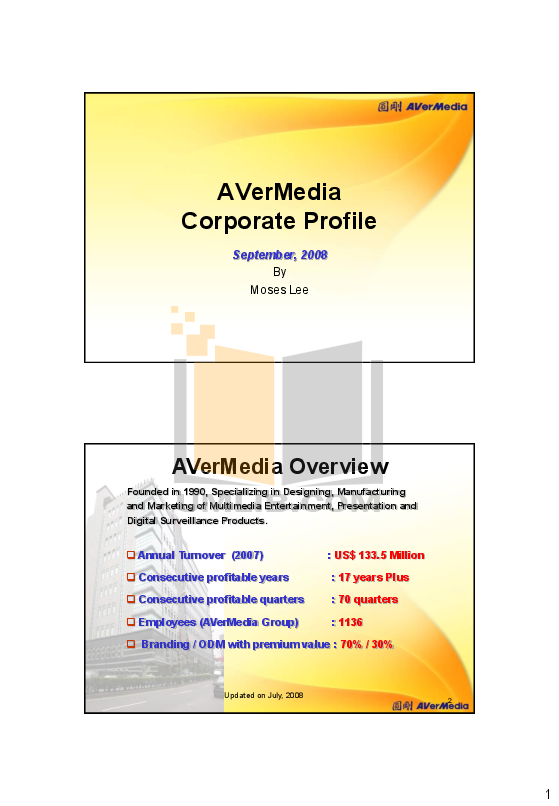 pdf for Avermedia Other AverVision CP150 Projector-Accessory manual