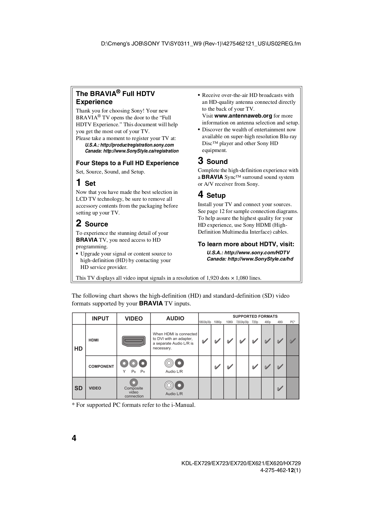 Sony i manual pdf array pdf manual for sony tv bravia kdl 40ex720 rh umlib com fandeluxe Gallery