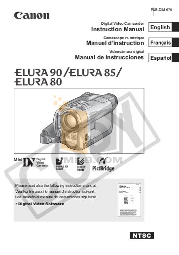download free pdf for canon elura 50 camcorders manual rh umlib com Canon Elura 100 Driver Canon Vixia