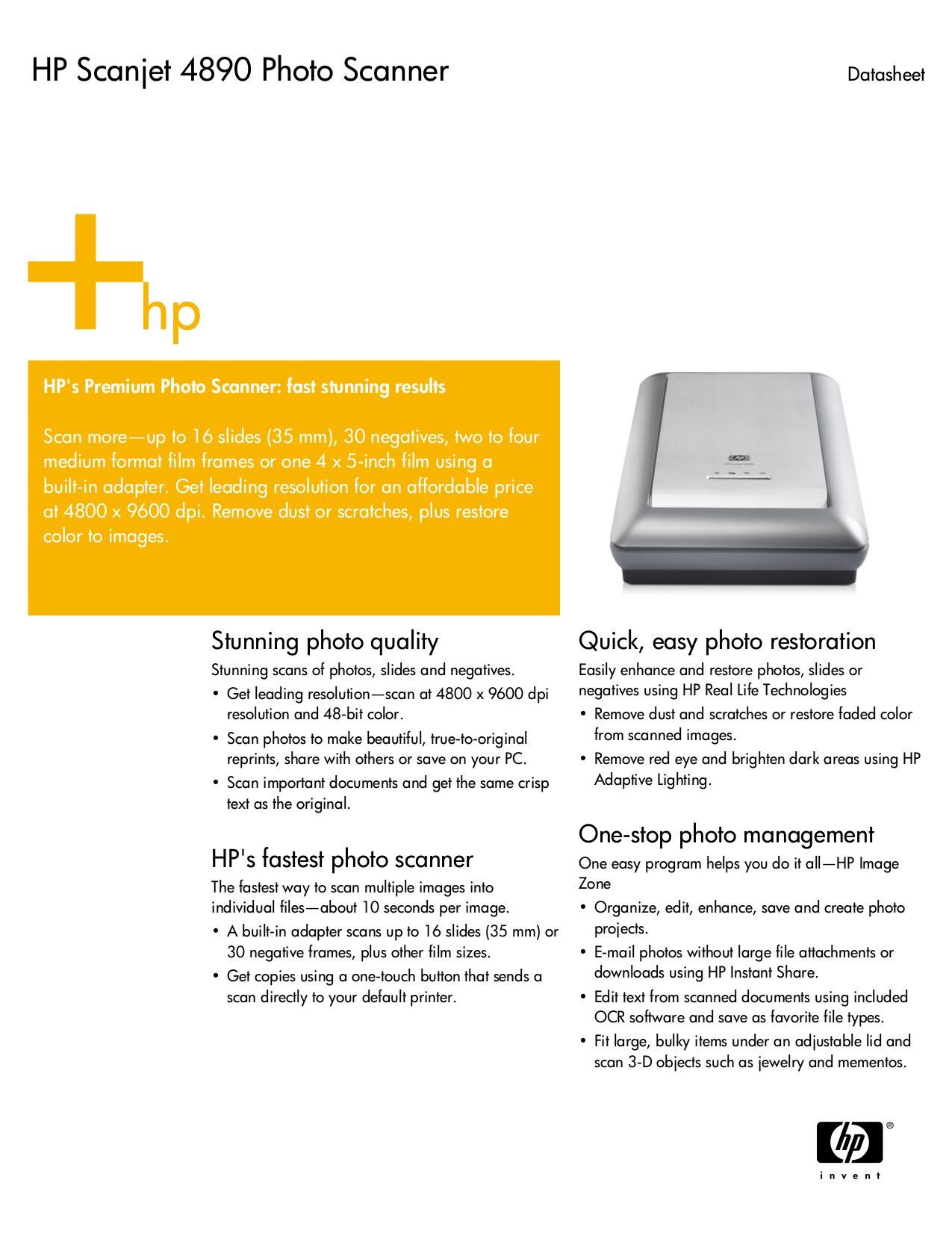 download free pdf for hp scanjet 4890 scanner manual rh umlib com HP Scanjet 5590 HP Scanjet 4890 Windows 7