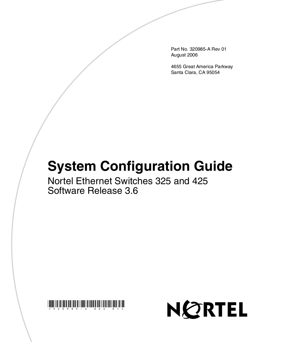 pdf for Nortel Switch BayStack 325-24G manual