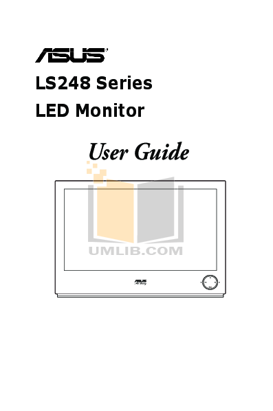 pdf for Asus Monitor LS248H manual