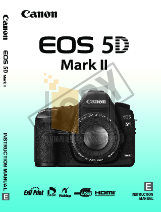 pdf for Canon Digital Camera EOS 5D manual