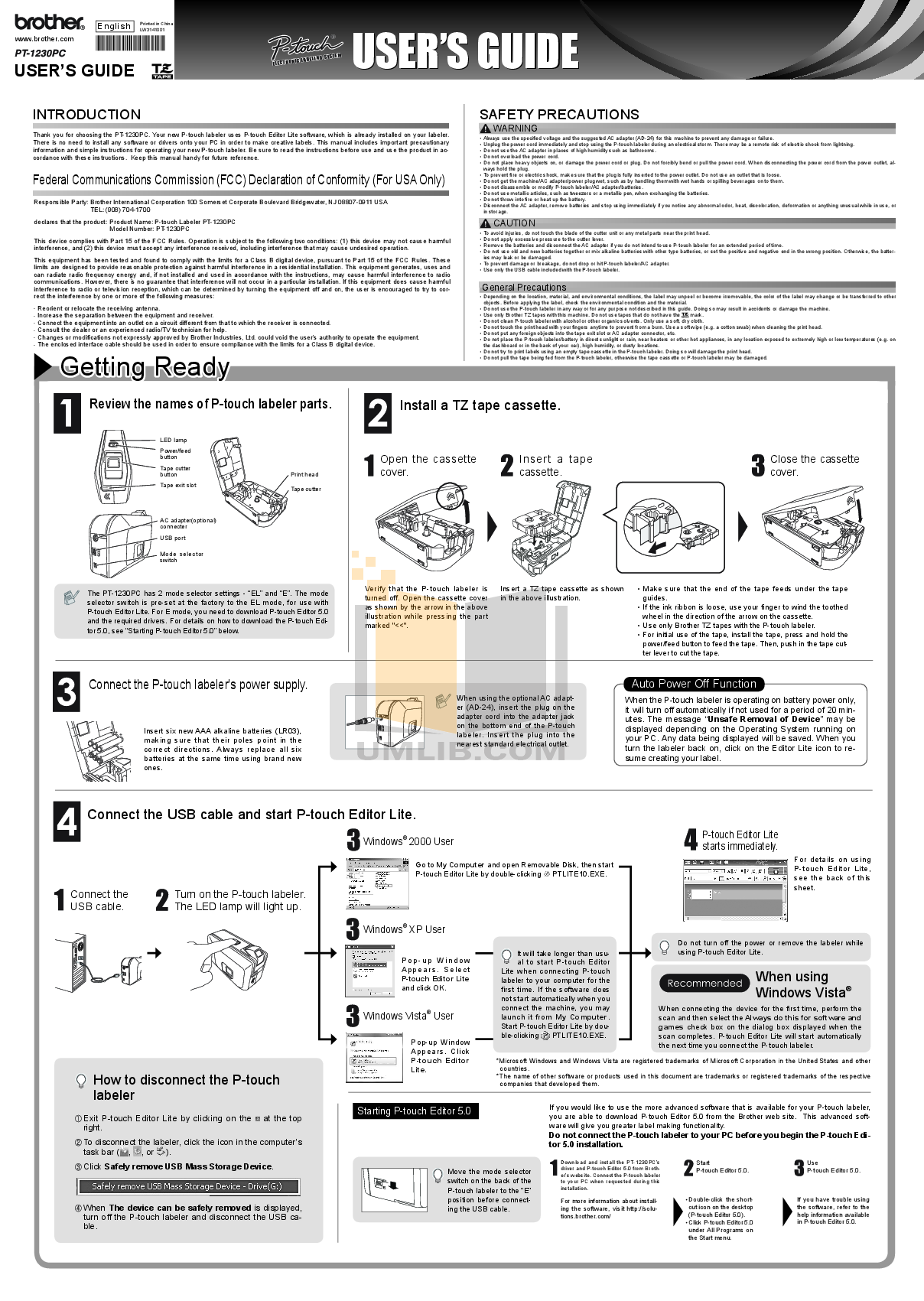 download free pdf for brother pt