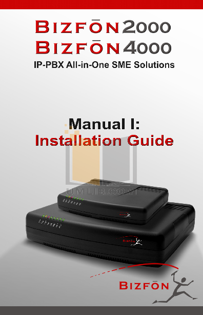 pdf for Bizfon PBX 2000 manual